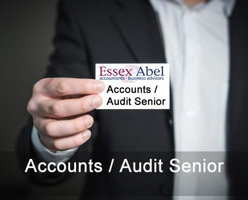accounts audit senior vacancy