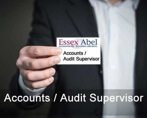 accounts audit supervisor vacancy