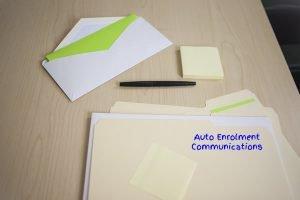 Auto-Enrolment Communications File