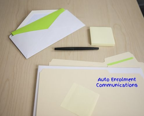 Auto-Enrolment Communications File